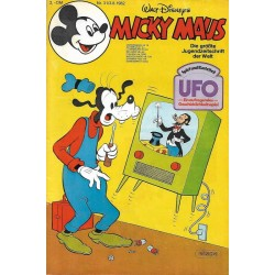 Micky Maus Nr. 31 / 3 August 1982 - Ufo