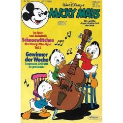 Micky Maus Nr. 52 / 27 Dezember 1983 - Schneewitchen