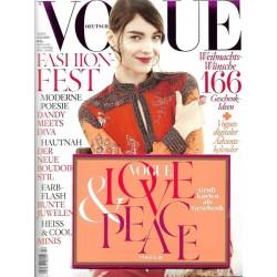 Vogue 12/Dezember 2014 - Kati Nescher Love & Peace