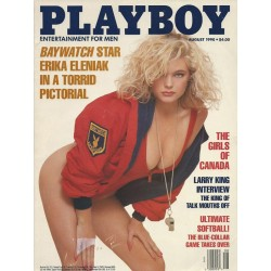 Playboy USA Nr.8 / August 1990 - Erika Eleniak
