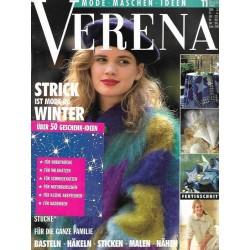 Verena Mode 11/November 1992 - Strick Winter