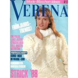 Verena Mode 2/Februar 1988 - Frühjahrstrends!
