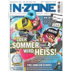 N-Zone 06/2017 - Ausgabe 242 - ARMS und Splatoon 2