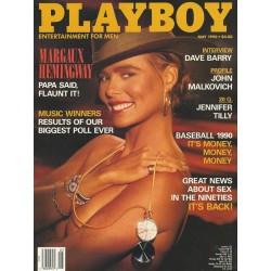 Playboy USA Nr.5 / Mai 1990 - Margaux Hemingway