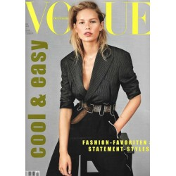Vogue 10/Oktober 2018 - Anna Ewers cool & easy