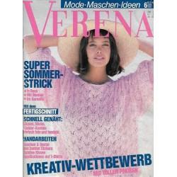 Verena Mode 6/Juni 1987 - Super Sommer Strick