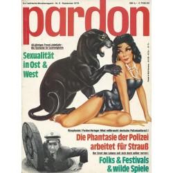 pardon Heft 9 / September 1979 - Sexualität in Ost & West