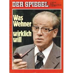 Der Spiegel Nr.28 / 4 Juli 1977 - Was Wehner wirklich will