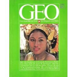 Geo Nr. 7 / Juli 1979 - Bali