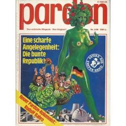 pardon Heft 3 / März 1980 - Eine scharfe Angelegenheit