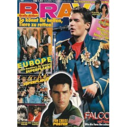 BRAVO Nr.46 / 6 November 1986 - Falco auf Tour