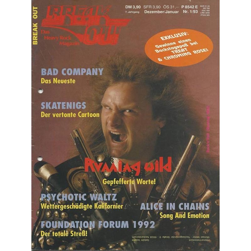Breakout Januar Heft Nr.1 von 1993