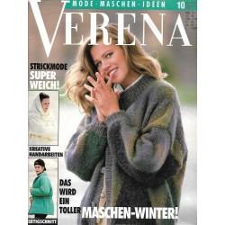 Verena Mode 10/Oktober 1993 - Maschen Winter!