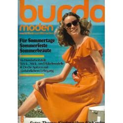 burda Moden 6/Juni 1974 - Für Sommertage