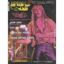Breakout August / September Heft Nr. 8-9/1993