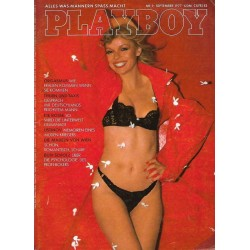Playboy Nr.9 / September 1977 - Playmate Germaine Talbot