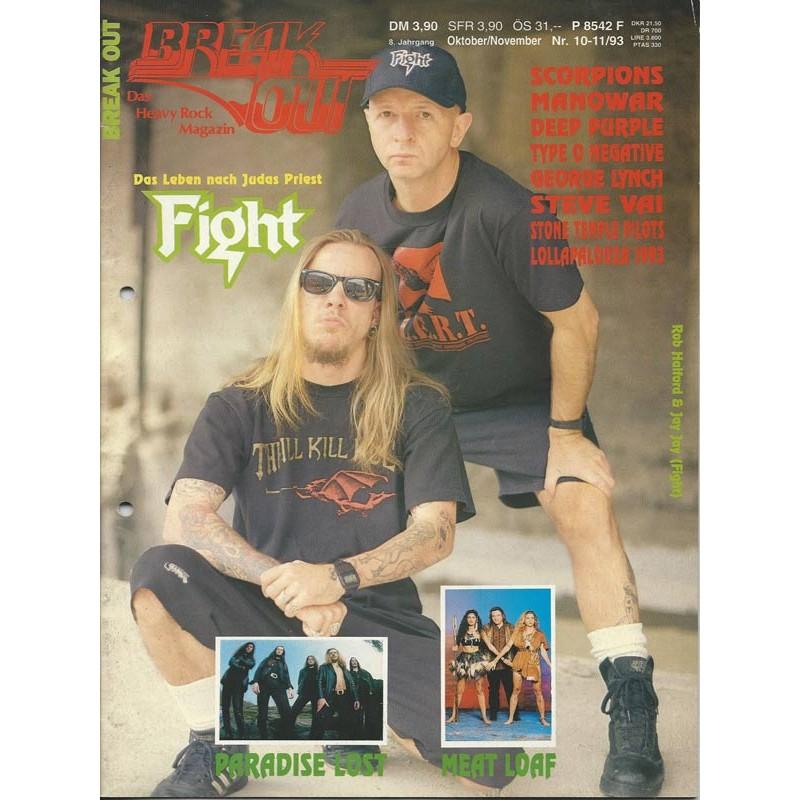 Breakout Oktober / November Heft Nr. 10-11/1993