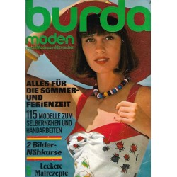 burda Moden 5/Mai 1974 - Sommer und Ferienzeit
