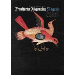 Frankfurter Allgemeine Heft 152 / Januar 1983 - Vögel