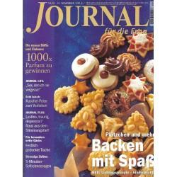 Journal Nr.24 / 12 November 1997 - Backen mit Spaß