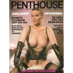Penthouse Nr.4 / April 1983 - Elisabeth Volkmann