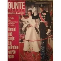 Bunte Illustrierte Nr.38 / 18 September 1968 - Kronprinzen von Oslo