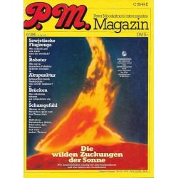 P.M. Ausgabe Juni 6/1981 - Die wilden Zuckungen der Sonne