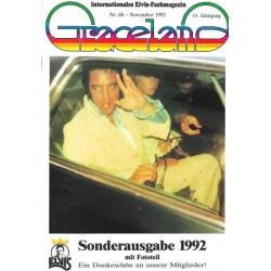 Graceland Nr.86 November 1992 - Sonderausgabe