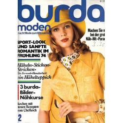burda Moden 2/Februar 1974 - Sport Look