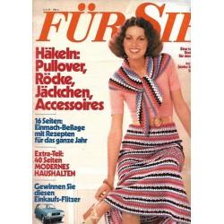Für Sie Heft 10 / 2 Mai 1975 - Häkeln: Röcke, Pullover...