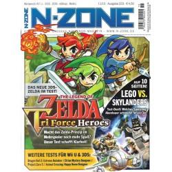 N-Zone 11/2015 - Ausgabe 223 - Zelda Tri Force Heroes