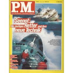 P.M. Ausgabe März 3/1992 - Seenot