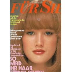 Für Sie Heft 3 / 24 Januar 1975 - So wird ihr Haar wieder schöne