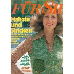 Für Sie Heft 16 / 26 Juli 1974 - Häkeln und Stricken
