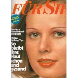Für Sie Heft 8 / 4 April 1975 - Pflege, Heilung für die Haut