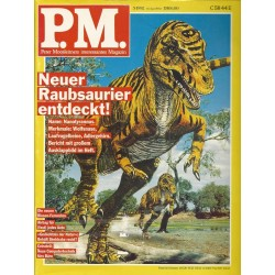 P.M. Ausgabe Mai 5/1992 - Neuer Raubsaurier entdeckt