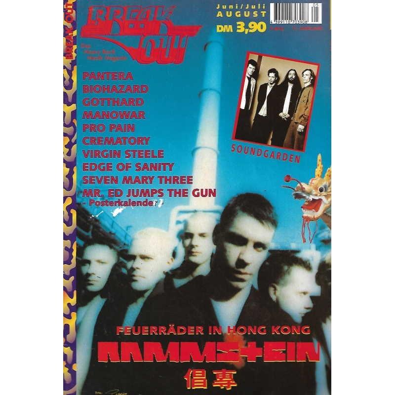 Breakout Nr.5 / Juni/Juli 1996 - Rammstein