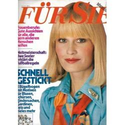 Für Sie Heft 12 / 31 Mai 1974 - Schnell gestickt