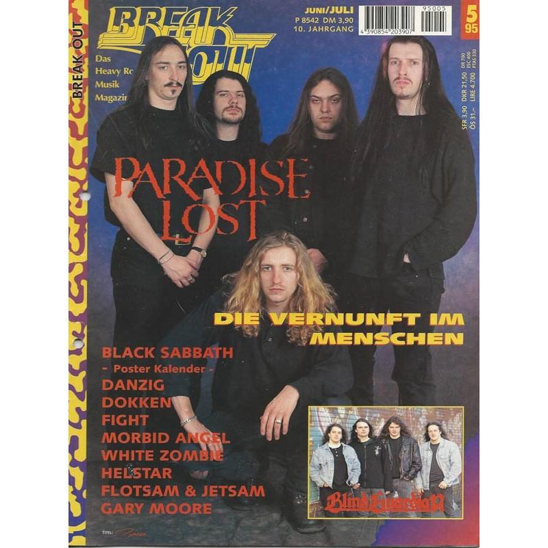 Breakout Juni/Juli Heft Nr. 5 von 1995