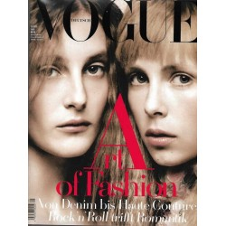 Vogue 5/Mai 2015 - Edie & Olympia Campbell Art of Fashion