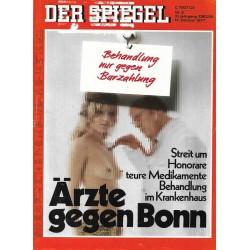 Der Spiegel Nr.8 / 14 Februar 1977 - Ärzte gegen Bonn