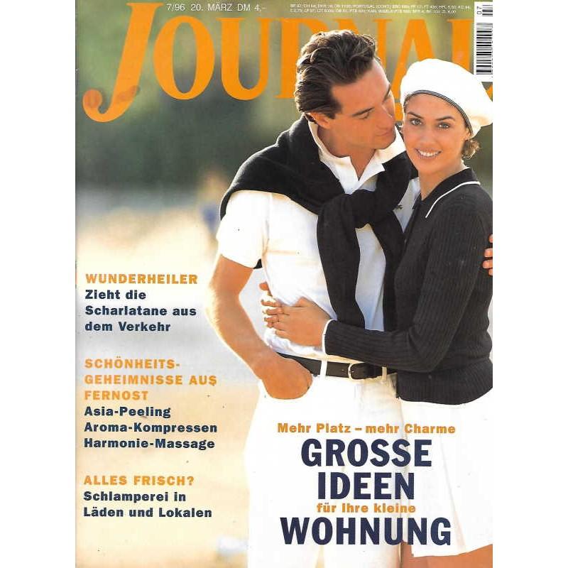 Journal Nr.7 / 20 März 1996 - Grosse Ideen