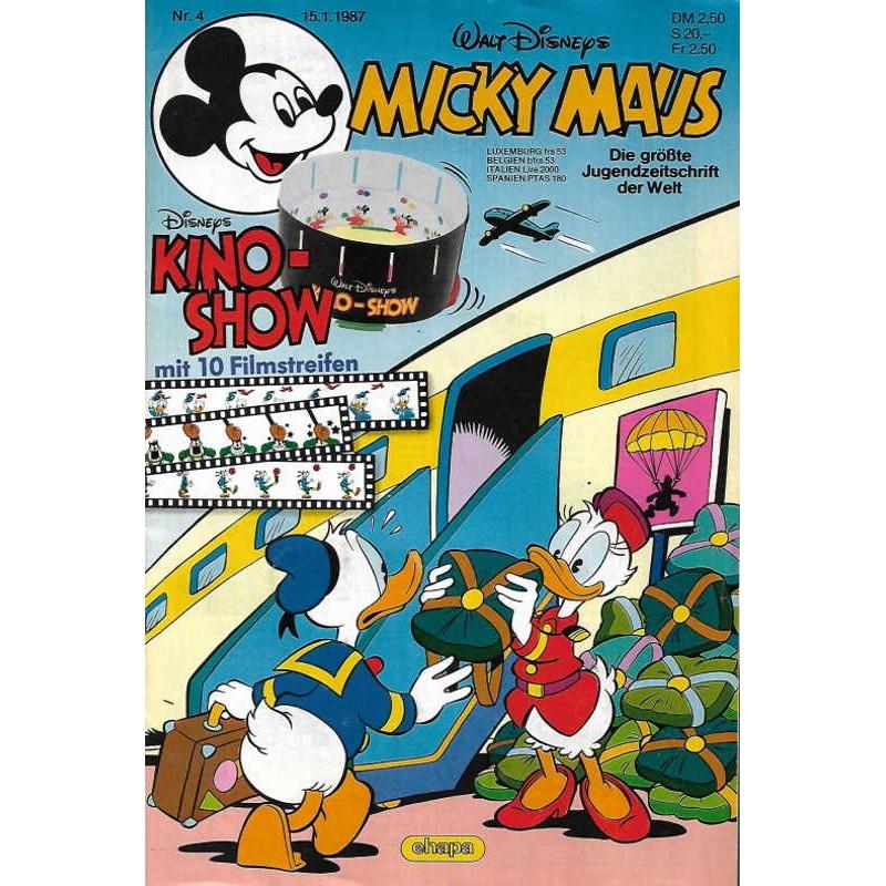 Micky Maus Nr. 4 / 15 Januar 1987 - Kino Show