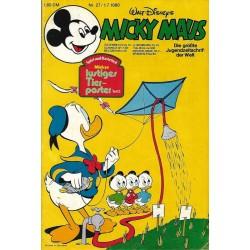Micky Maus Nr.27 / 1 Juli 1980 - Lustiges Tierposter