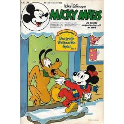 Micky Maus Nr.51 / 16 Dezember 1980 - Das große Weihnachtsspiel