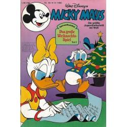Micky Maus Nr.50 / 9 Dezember 1980 - Das große Weihnachtsspiel 2