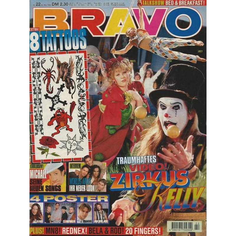 BRAVO Nr.22 / 24 Mai 1995 - Zirkus Kelly