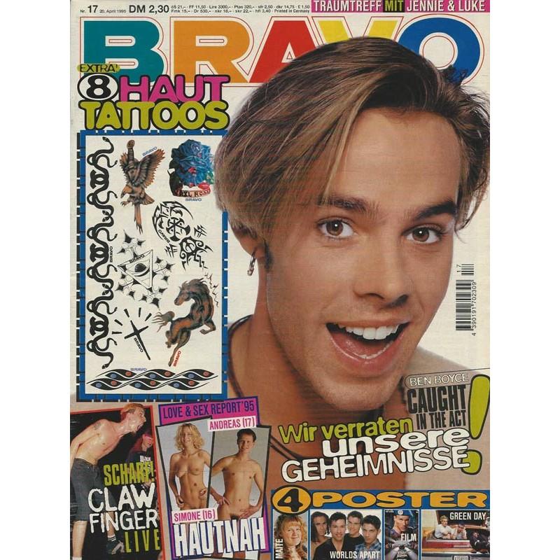 BRAVO Nr.17 / 20 April 1995 - Ben Boyce