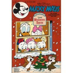 Micky Maus Nr.51 / 15 Dezember 1981 - Weihnachts Karten