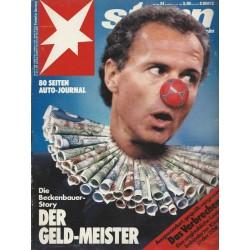 stern Heft Nr.24 / 7 Juni 1990 - Der Geld-Meister
